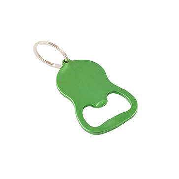 Rounded Bottle Opener Keychain